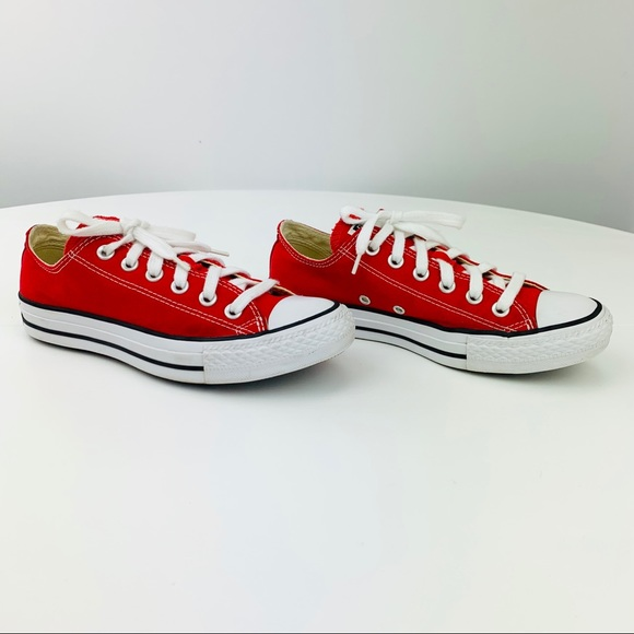 red converse womens size 10